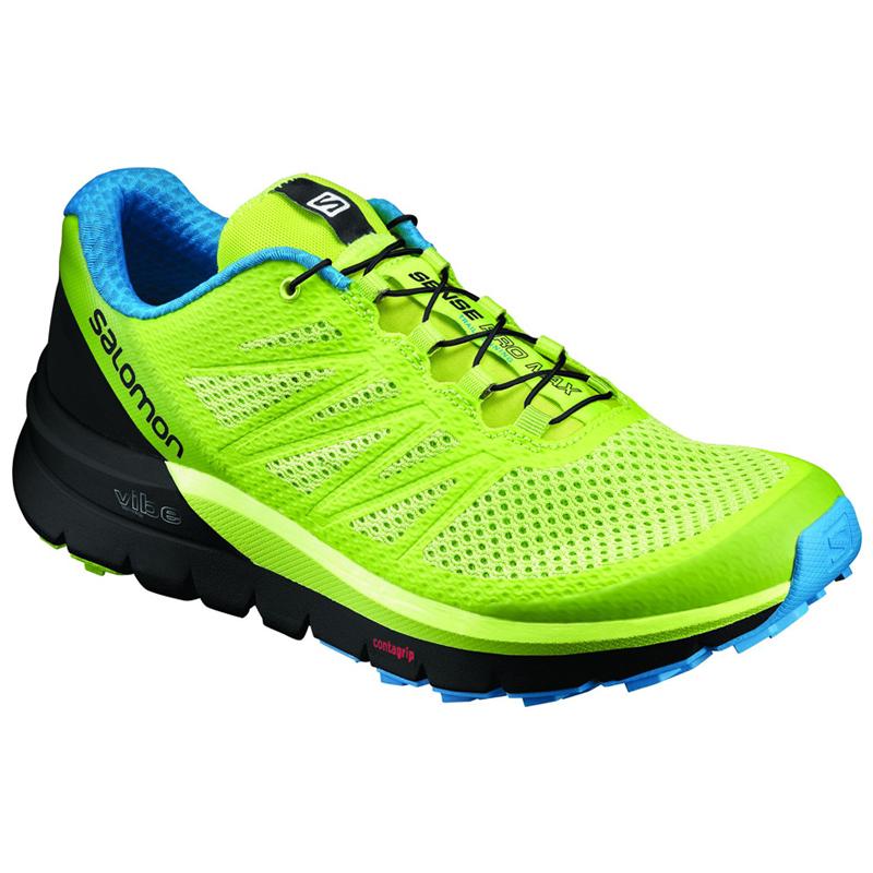 SALOMON(サロモン) FOOTWEAR SENSE PRO MAX 26.5cm Lime Punch×Black×Hawaii L39203800