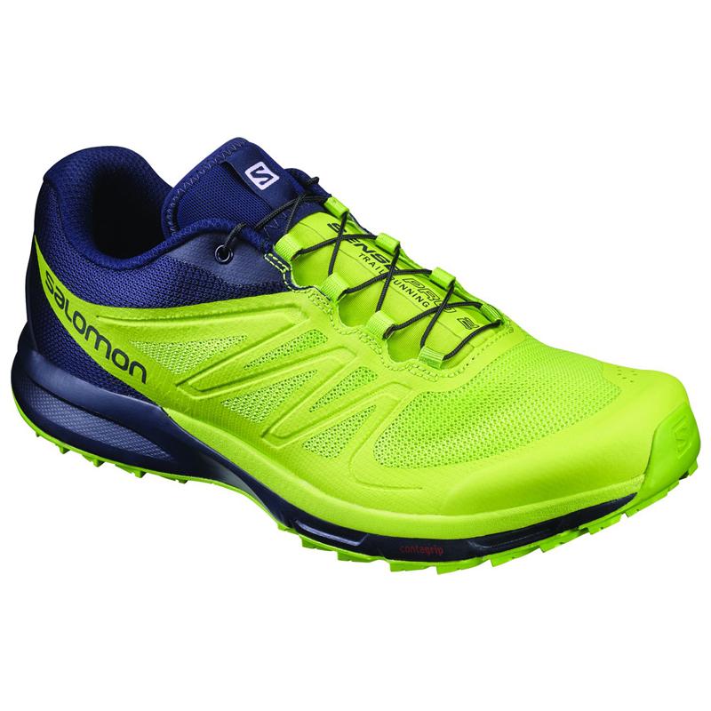 SALOMON(サロモン) FOOTWEAR SENSE PRO 2 26.0cm Navy Blaze×Lime Pun L39250400