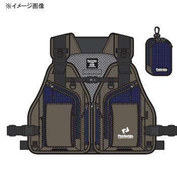 パズデザイン FTGストリームベストII フリー オリーブ ZFV-029