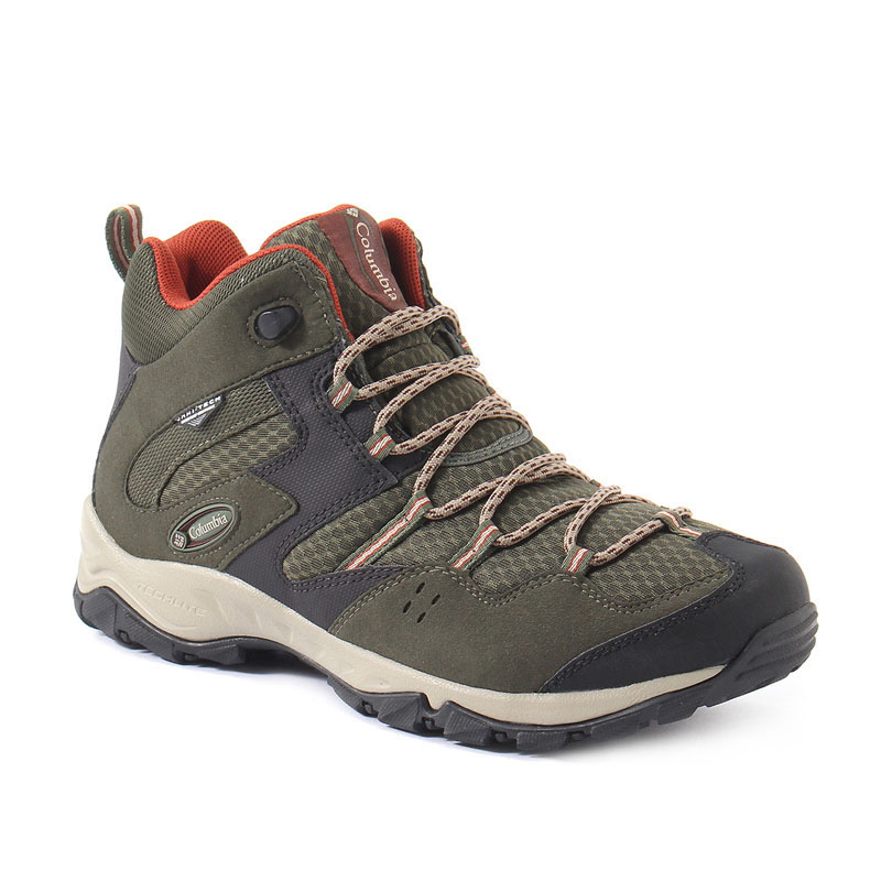 【送料無料】Columbia(コロンビア) SABER MID III OOMNI-TECH Men's 8/26.0cm 347(Surplus Green) YM5259【あす楽対応】