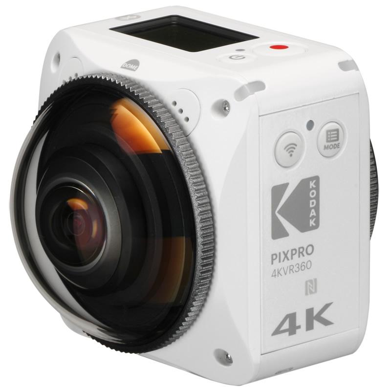 Kodak PIXPRO(コダック ピクスプロ) 360度4Kアクションカメラ 全天球 VR撮影可能 4K WiFi 単品 4KVR360
