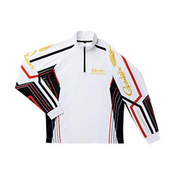 がまかつ(Gamakatsu) 2WAYプリントジップシャツ(長袖) GM3477 3L ホワイト 53477-35-0