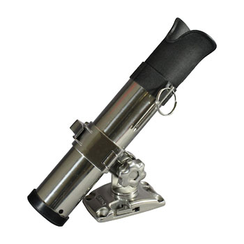 bmojapan(ビーエムオージャパン) ステンロッドホルダー自在式 ステンベースLセット BM-SRH-SS