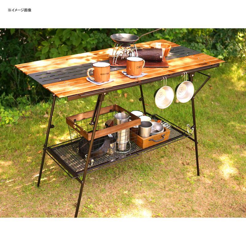【送料無料】ネイチャートーンズ(NATURE TONES) 2WAY ハイ テーブル(天板Wood+メタル) ダークブラウン 3WHT-WM-DB