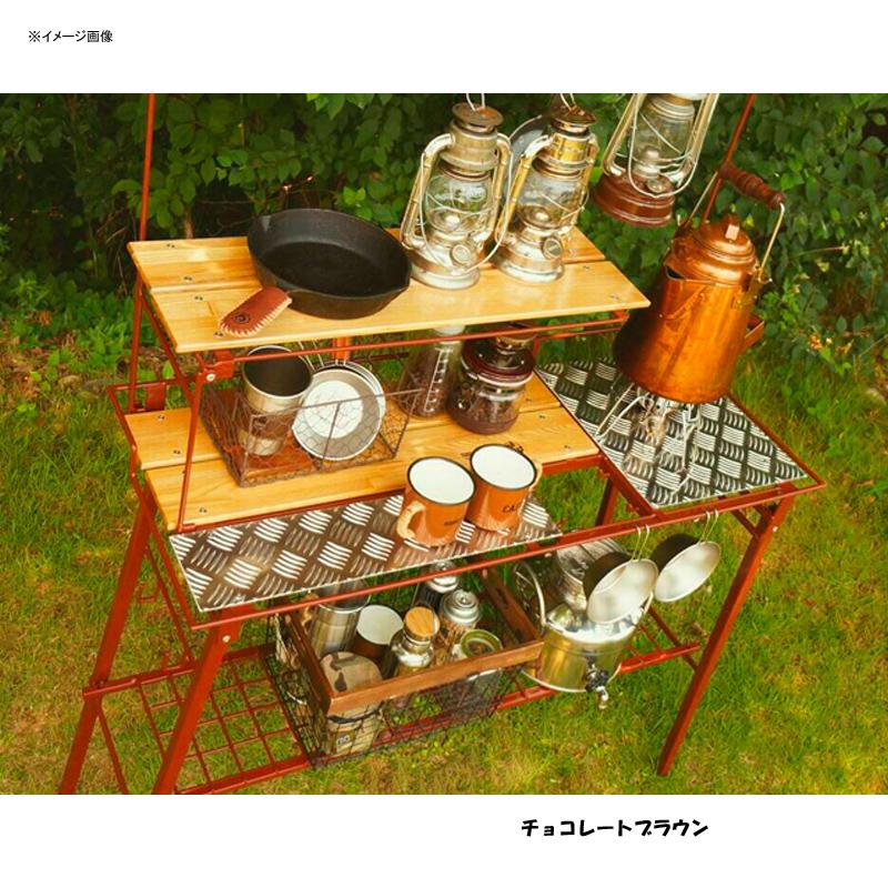 【送料無料】ネイチャートーンズ(NATURE TONES) The Kitchen Counter Table+オプションセット チョコレートブラウン KCT-CB+OP