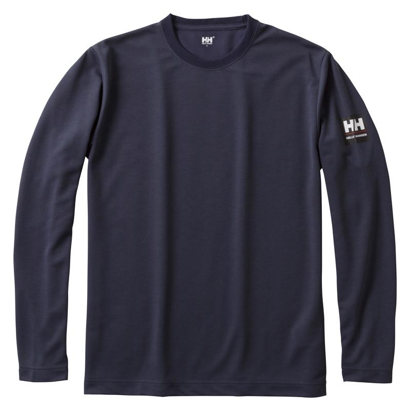 HELLY HANSEN(ヘリーハンセン) HH31751 L/S Team Dry Tee(ロングスリーブ チーム ドライティー) Men's XL HB(ヘリーブルー)