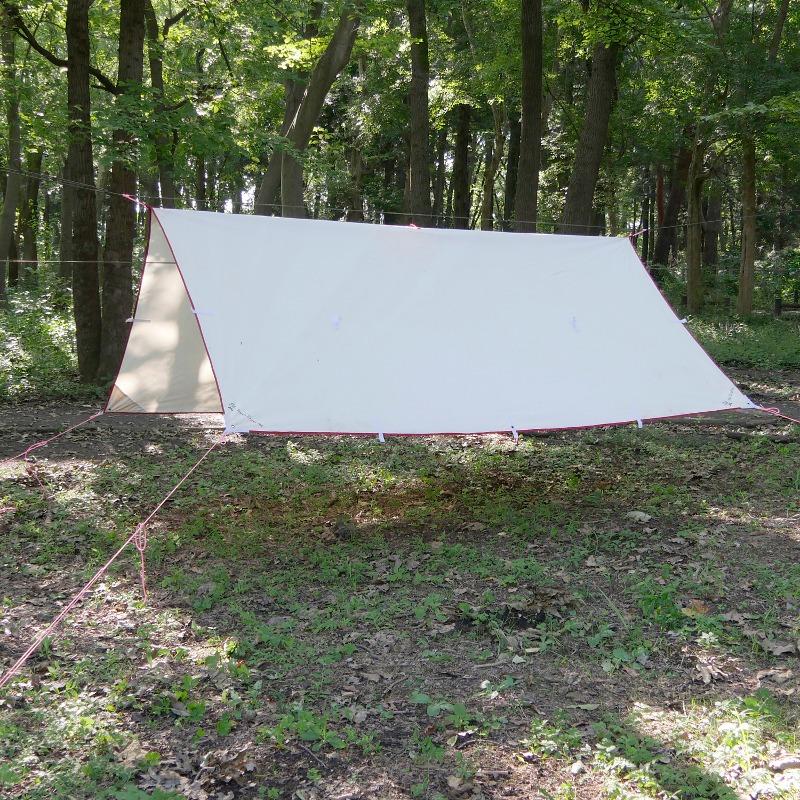 【送料無料】Bush Craft(ブッシュクラフト) たき火タープ 3×3 02-06-tent-0016