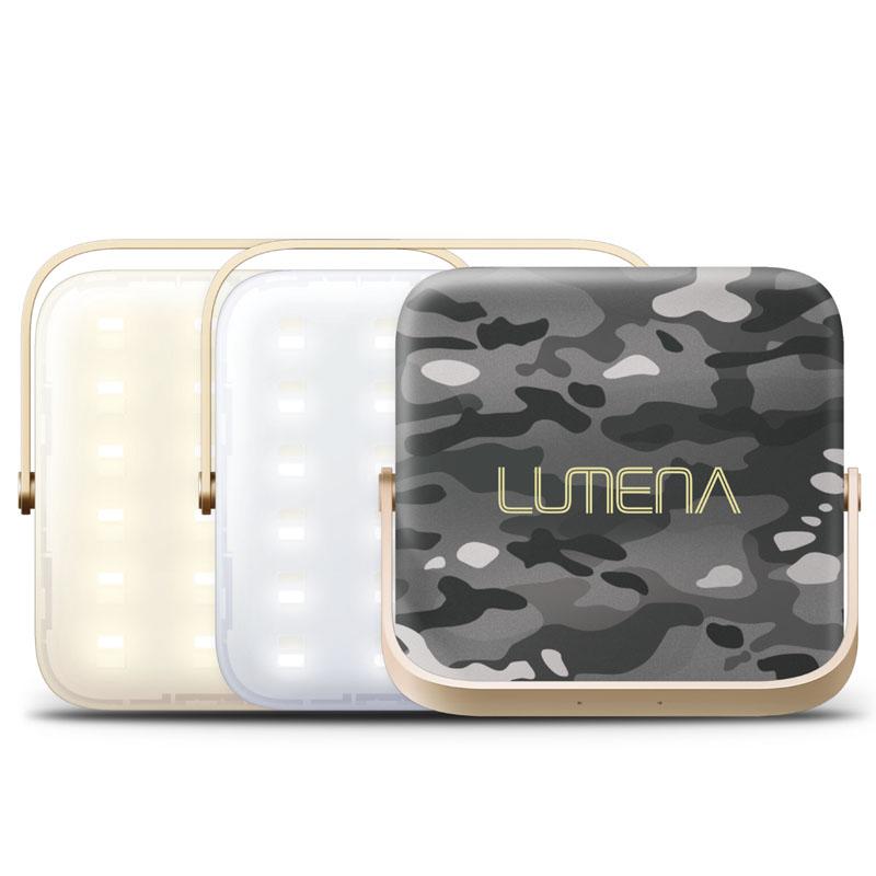 NNINE LUMENA(ルーメナー)7 LEDランタン 迷彩グレイ LUMENA7-GLY