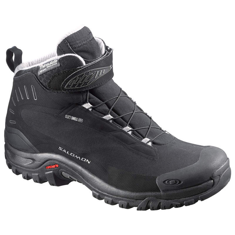 SALOMON(サロモン) FOOTWEAR DEEMAX 3 TS WP 26.5cm Black×Black×Alu L37687800