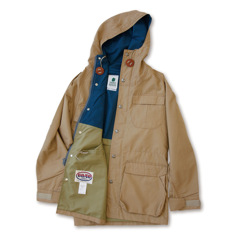 【送料無料】SIERRA DESIGNS(シエラデザインズ) MOUNTAIN PARKA M V.tan×Navy 7910