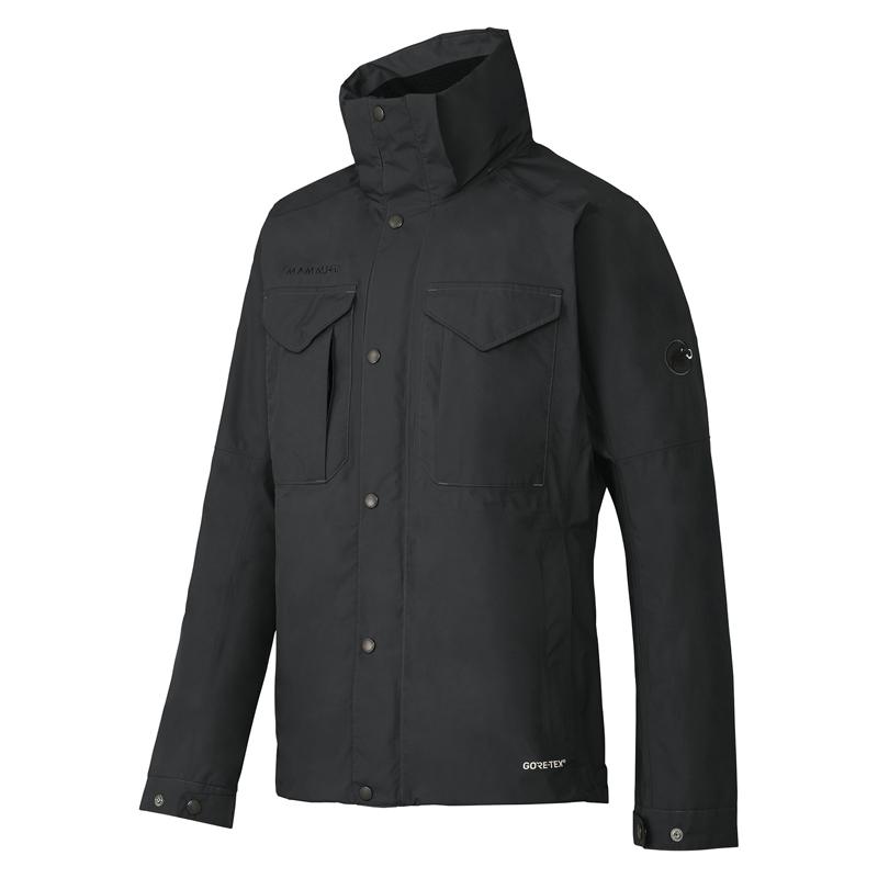 【送料無料】MAMMUT(マムート) GORE-TEX HORIZON Jacket Men's L 0001(black) 1010-25500