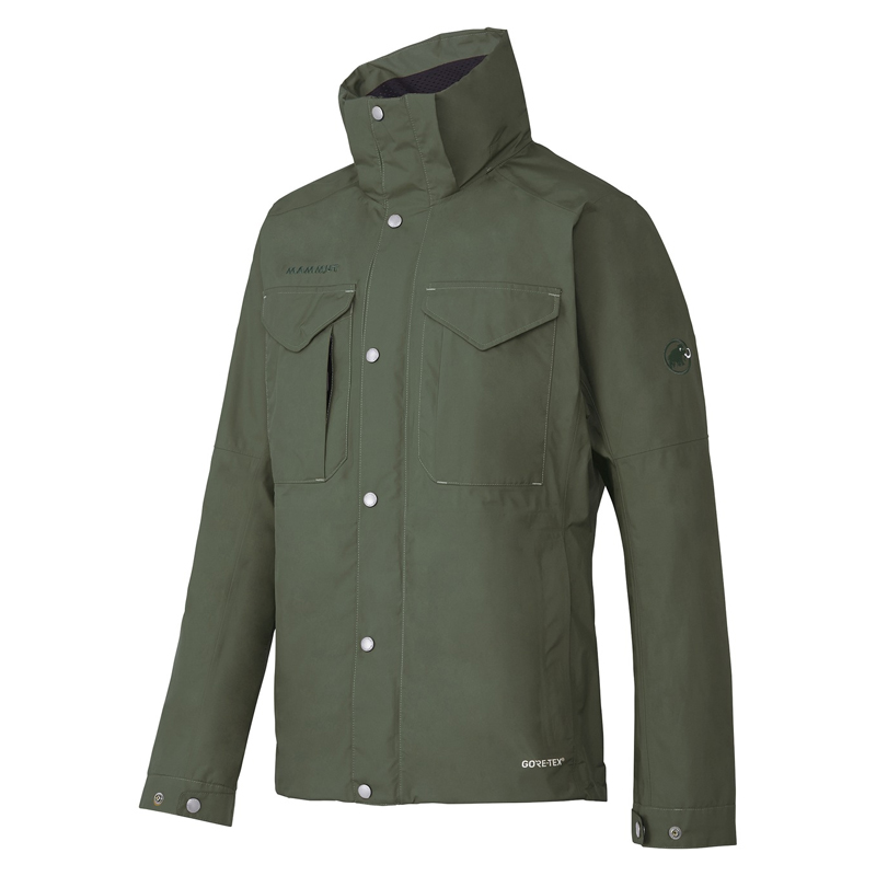 【送料無料】MAMMUT(マムート) GORE-TEX HORIZON Jacket Men's L 4023(dark olive) 1010-25500