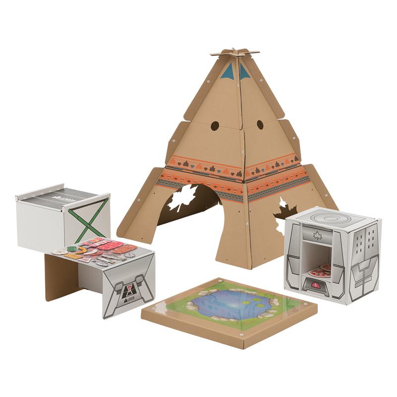 ロゴス(LOGOS) キャンプごっこクラフトデスク キャンピング 74000000