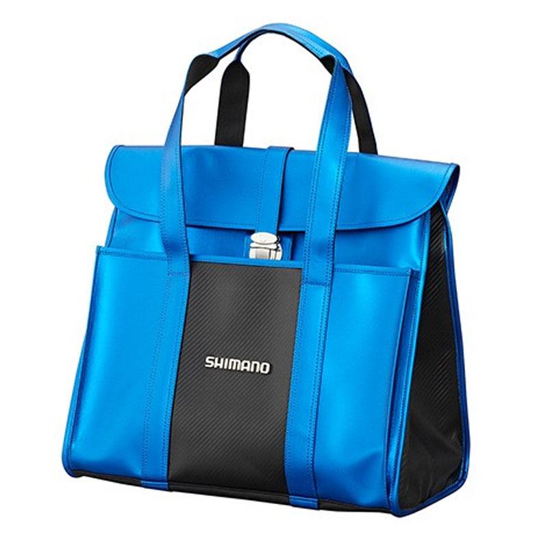 シマノ(SHIMANO) BA-043Q へらサブバッグXT サファイアブルー 53083
