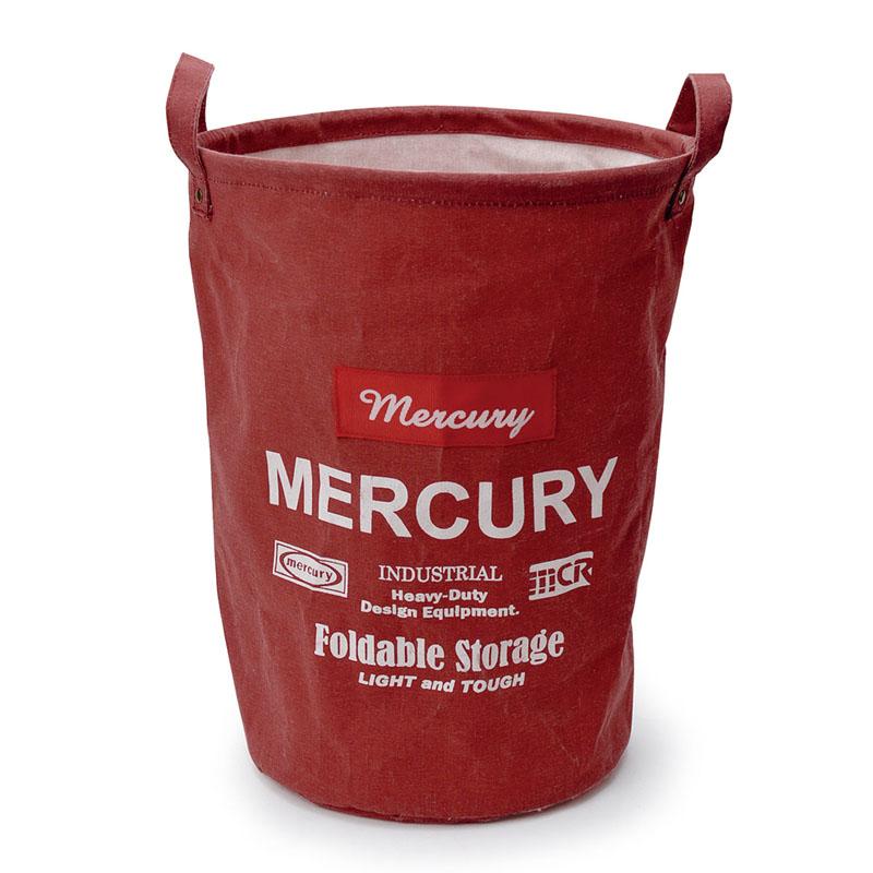 MERCURY(マーキュリー) キャンバスバケツ M コーラル MECABUMR