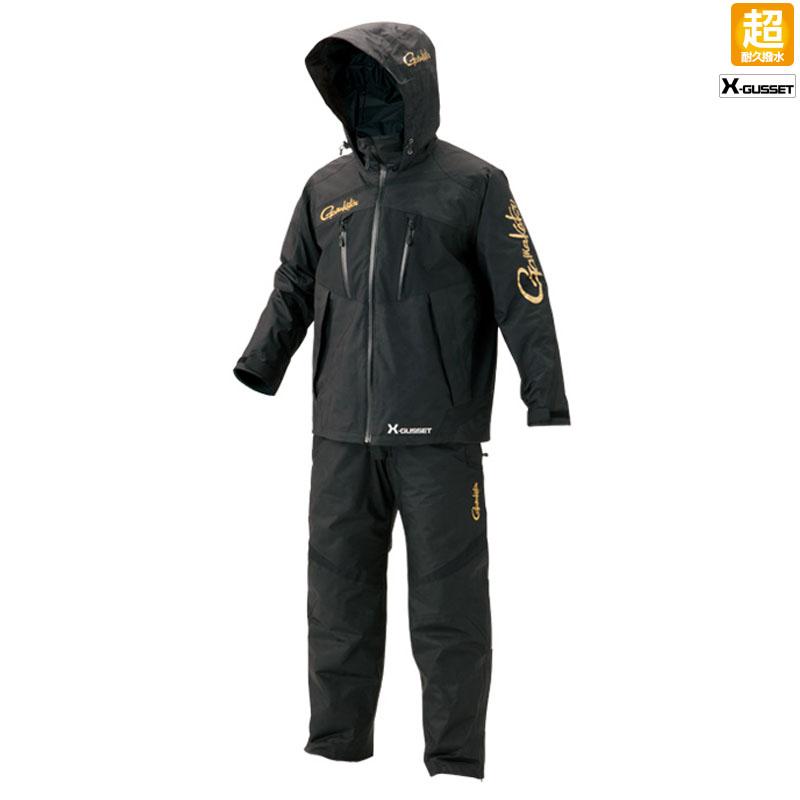 がまかつ(Gamakatsu) オールウェザースーツ(超耐久撥水仕様) GM-3485 4L ブラック 53485-16-0