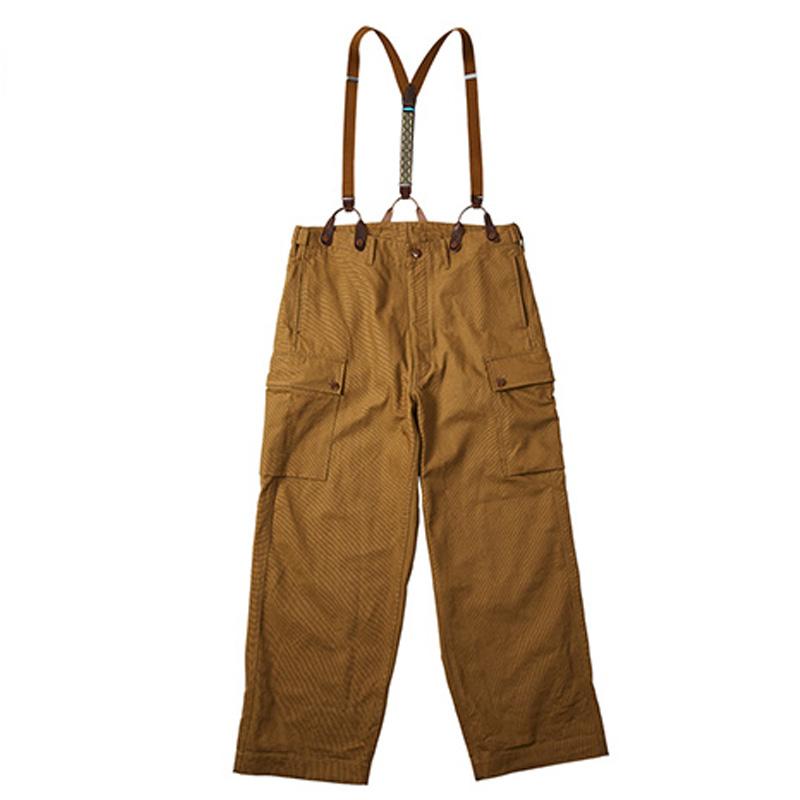 KAVU(カブー) オーバーパンツ Men's L Brown Beige 19820715 047007【あす楽対応】