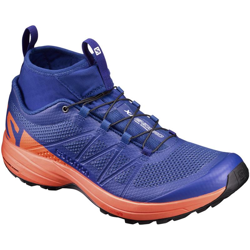 SALOMON(サロモン) FOOTWEAR XA ENDURO 27.5cm Surf The Web×Flame×Black L39240800