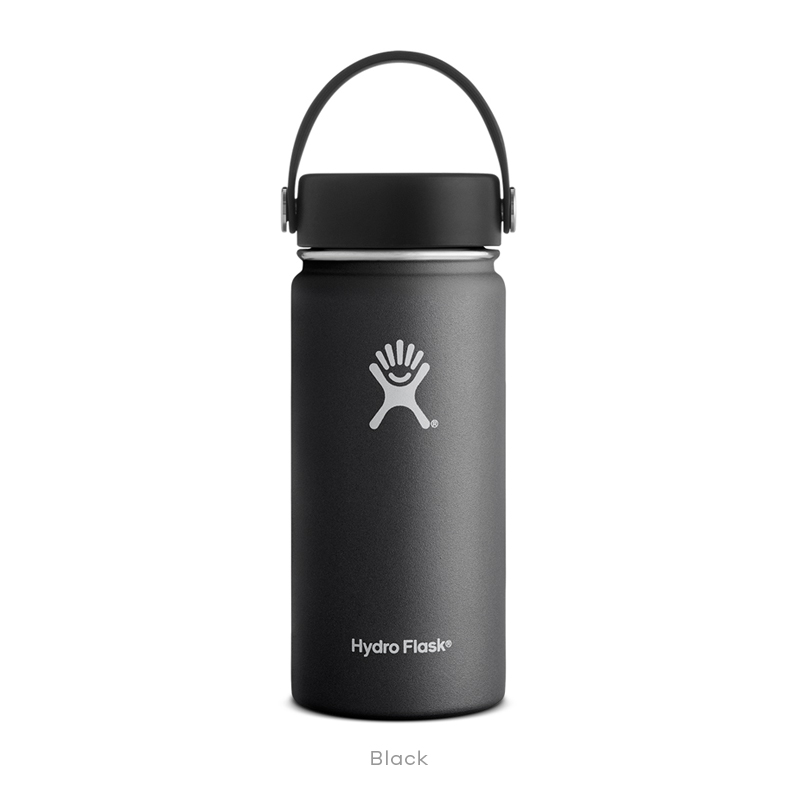 HYDRO FLASK(ハイドロ フラスク) 16 oz WIDE MOUTH 473ml 20(BLACK) 5089022