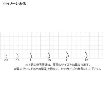 ささめ針(SASAME) ワカサギ秋田狐 0.8号 ナチュラルブラウン WA-04