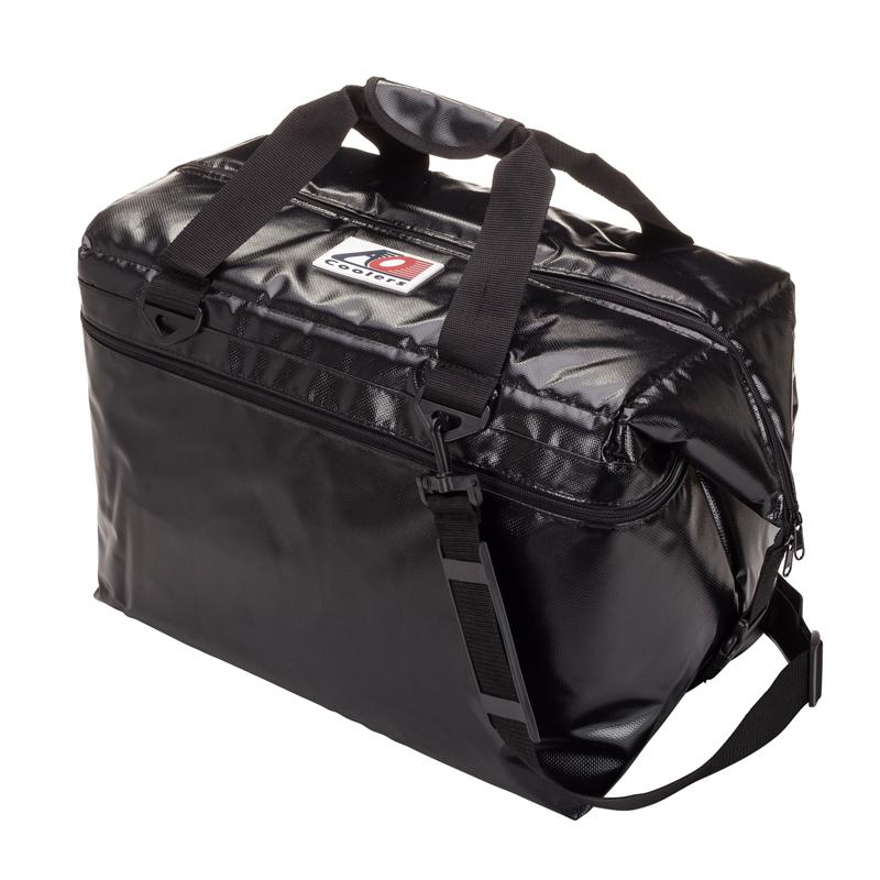 【送料無料】AO Coolers(エーオー クーラーズ) 48パック ソフトクーラー 45L ブラック AOFI48BK【SMTB】