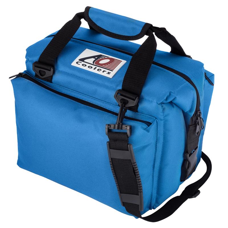 【送料無料】AO Coolers(エーオー クーラーズ) 12パック キャンバス ソフトクーラー デラックス 11L ブルー AO12DXRB【SMTB】