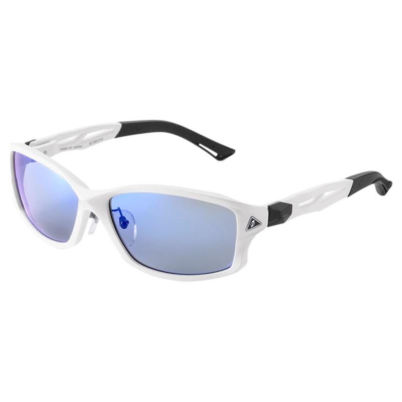 zeal optics(ジールオプティクス) STELTH(ステルス) パールホワイト トゥルービュースポーツ×ブルーミラー F-1395【あす楽対応】