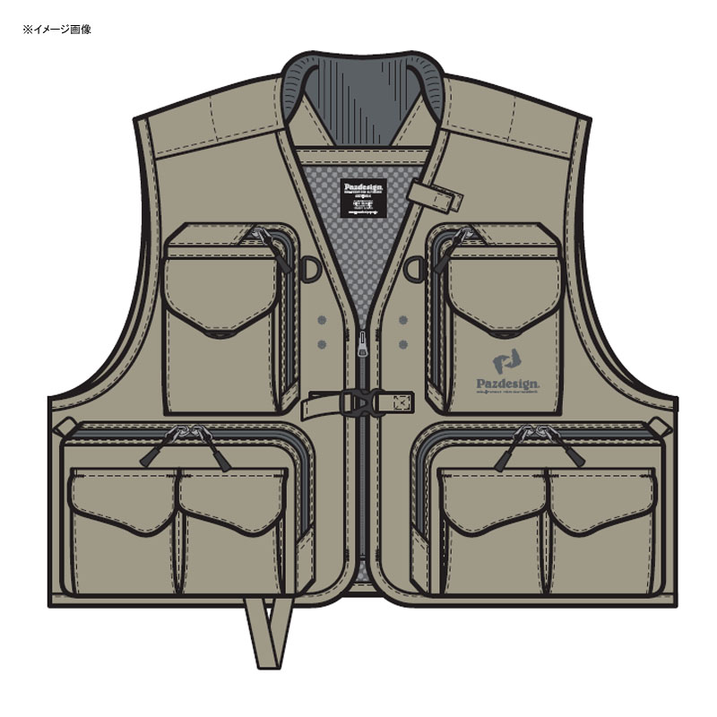 パズデザイン バーサタイルベストII M タングレー ZFV-030