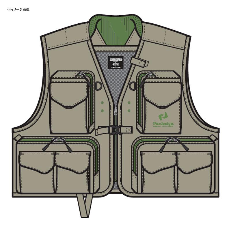 パズデザイン バーサタイルベストII L タンオリーブ ZFV-030