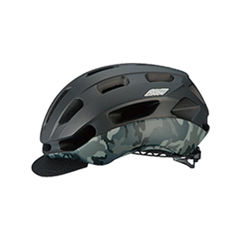 オージーケー カブト(OGK KABUTO) ヘルメット BC-Glosbe2(BC・グロッスベ2) S/M マットブラックカモ