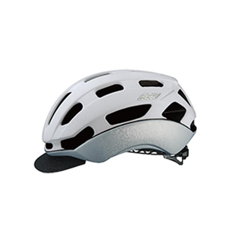 オージーケー カブト(OGK KABUTO) ヘルメット BC-Glosbe2(BC・グロッスベ2) S/M マットホワイトヘアライン