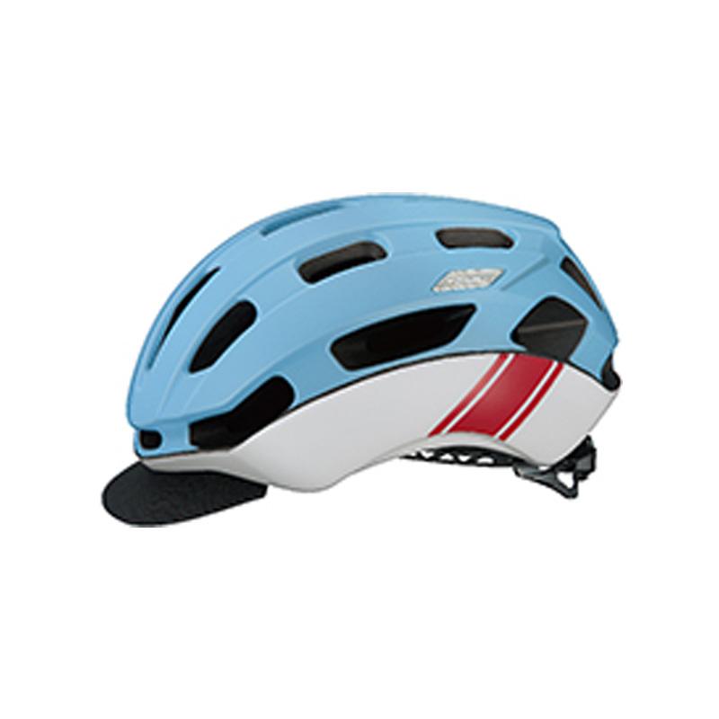 オージーケー カブト(OGK KABUTO) ヘルメット BC-Glosbe2(BC・グロッスベ2) S/M マットブルーレーサー