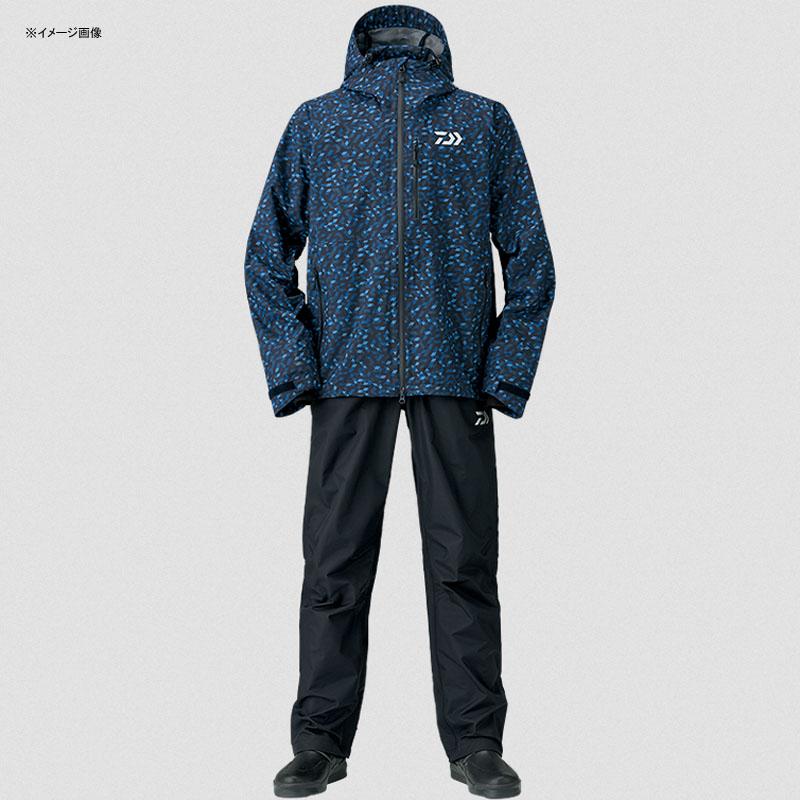 【送料無料】ダイワ(Daiwa) DR-33008 レインマックス レインスーツ L ブルーミラー 08350390【SMTB】