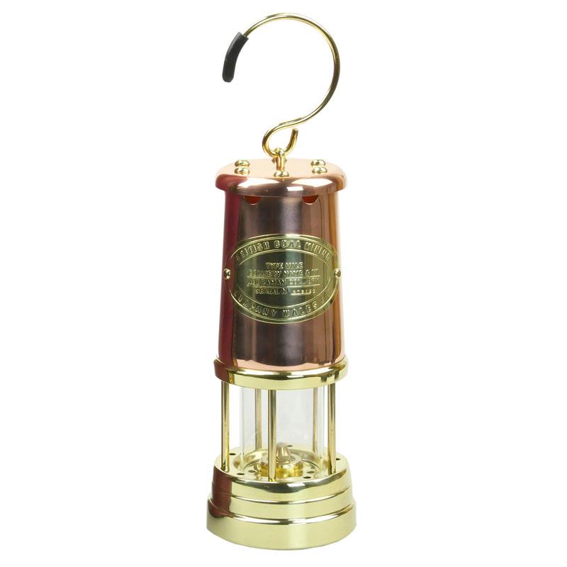 【送料無料】JD バーフォード マイナーズランプ(JD Burford Miners Lamps) #C7 L カッパー×ブラス【あす楽対応】
