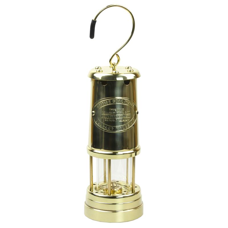 【送料無料】JD バーフォード マイナーズランプ(JD Burford Miners Lamps) #B8 L オールブラス【あす楽対応】【SMTB】