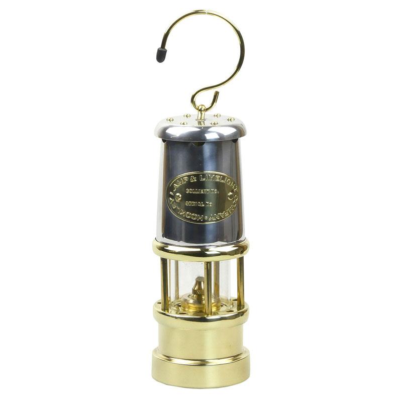 【送料無料】JD バーフォード マイナーズランプ(JD Burford Miners Lamps) #N58 M ニッケル×ブラス