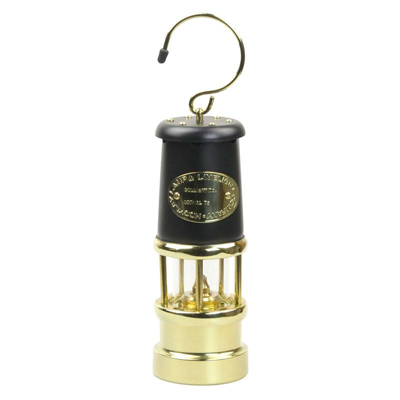 【送料無料】JD バーフォード マイナーズランプ(JD Burford Miners Lamps) #97 M ブラック×ブラス【SMTB】