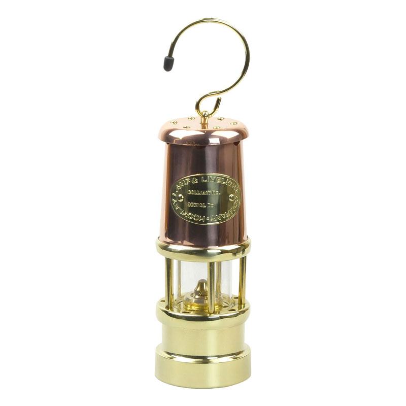 【送料無料】JD バーフォード マイナーズランプ(JD Burford Miners Lamps) #C6 M カッパー×ブラス