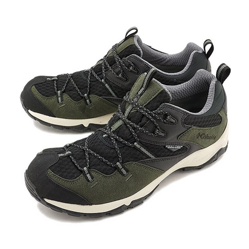 【送料無料】Columbia(コロンビア) Saber III Lo Omni-Tech(セイバー 3ロウオムニテック) Men's 8.5/26.5cm 347(Surplus Green×Black) YM5448【あす楽対応】【SMTB】
