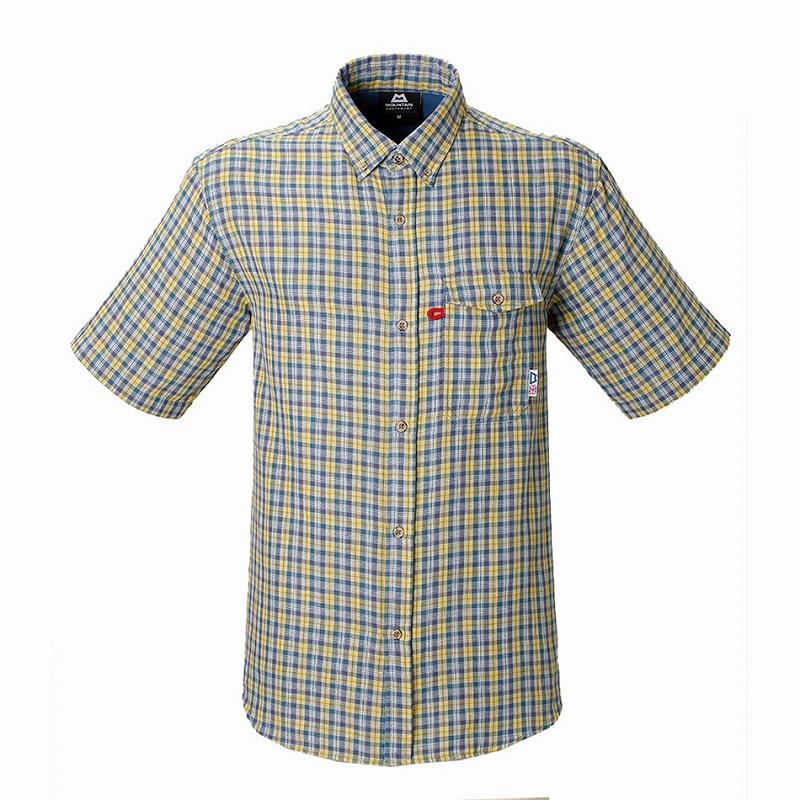 マウンテンイクイップメント(Mountain Equipment) SS Double Gauze Shirt (ダブルガーゼシャツ) L イエロー 421831