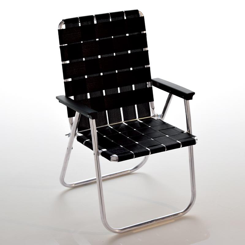【送料無料】Lawn Chair(ローン チェアー) デラックスチェア 51cm Midnight 62501【SMTB】