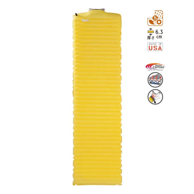 【送料無料】THERMAREST(サーマレスト) ネオエアーXライトマックスSV R レモンカリー 30712