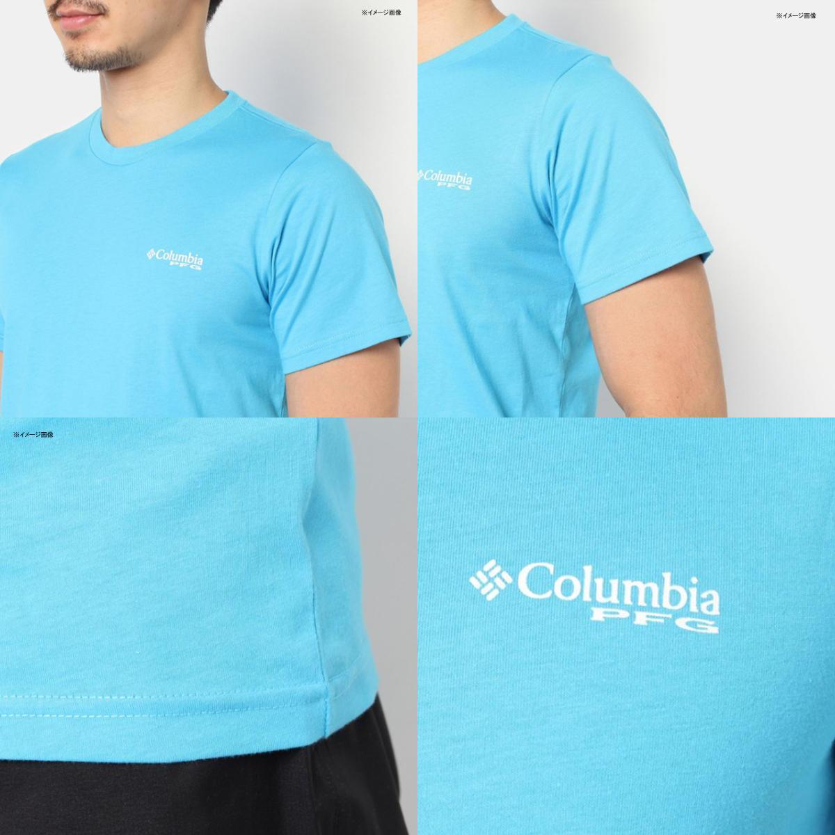 Columbia(コロンビア) PFG ツールズ エレメンツ ショート スリーブ Men's L 464(Collegiate Navy) JE2652