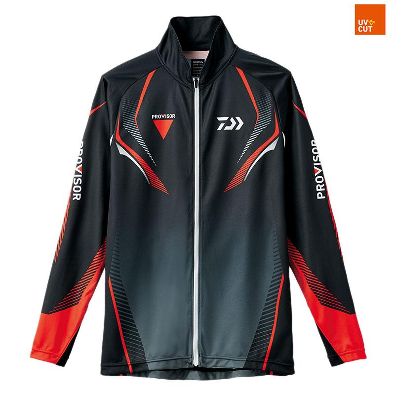 ダイワ(Daiwa) DE-74008 プロバイザー ドライフルジップシャツ 2XL ブラック 08330334