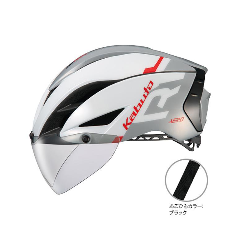 オージーケー カブト(OGK KABUTO) ヘルメット AERO-R1 (エアロ-R1) XS/S G-1ホワイトライトグレー