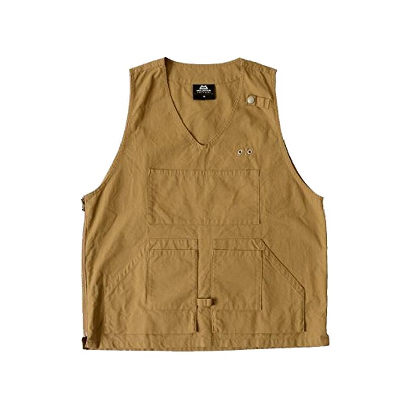 【送料無料】マウンテンイクイップメント(Mountain Equipment) Utility Vest L BEIGE 421368