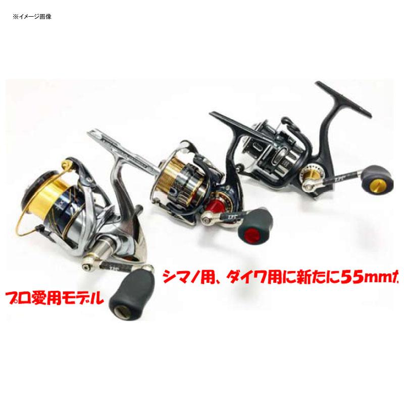 ZPI(ジーピーアイ) RMRスピニングカーボンハンドル アブ用 55mm レッド RMRH55AB-R
