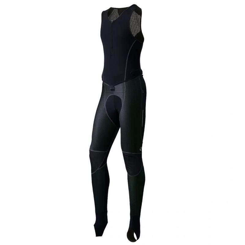 パールイズミ(PEARL iZUMi) ウィンドブレーク クイック ビブ サーモ タイツ Men's XL 7(ブラック) T6700-3DNP-7-XL
