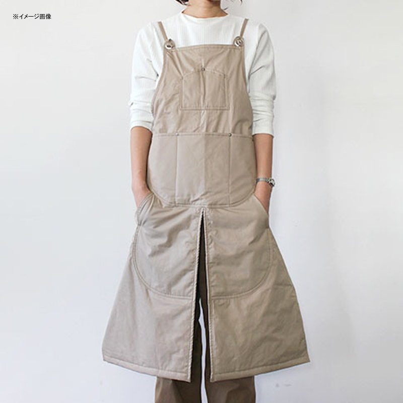 NAPRON(ナプロン) WINTER SPLIT APRON BEIGE NP-AP21-7ABE