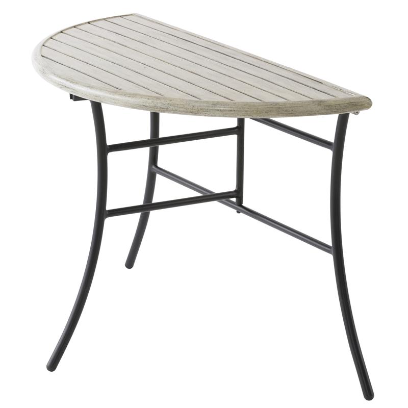 ニュートピア(NEWTOPIA) ハーフサークルガーデンテーブル NTP2197